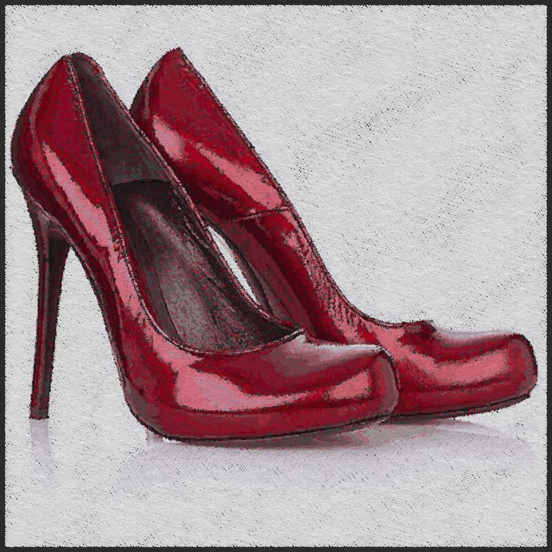 Red-shoes-for-women